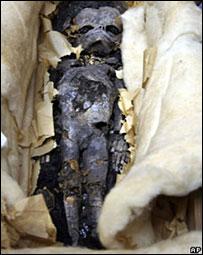 Feto hijo de Tutankamon